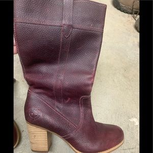 Ladies leather timberland  boots